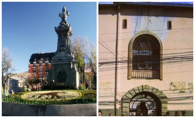 Plaza San Pedro and San Pedro Prison La Paz Bolivia