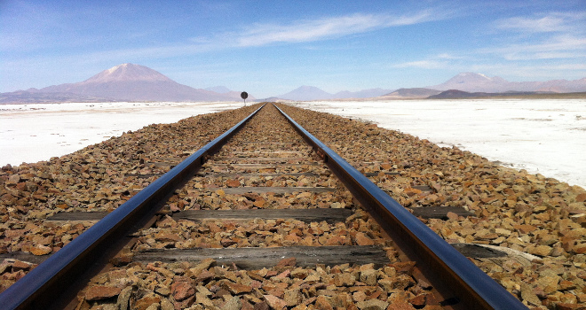Traveling Between Uyuni And La Paz
