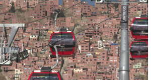 world's highest cable car la paz