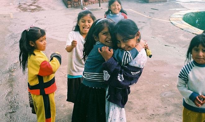 Children in San Pedro Prison La Paz Bolivia