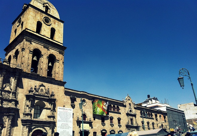 San Francisco Church La Paz Bolivia