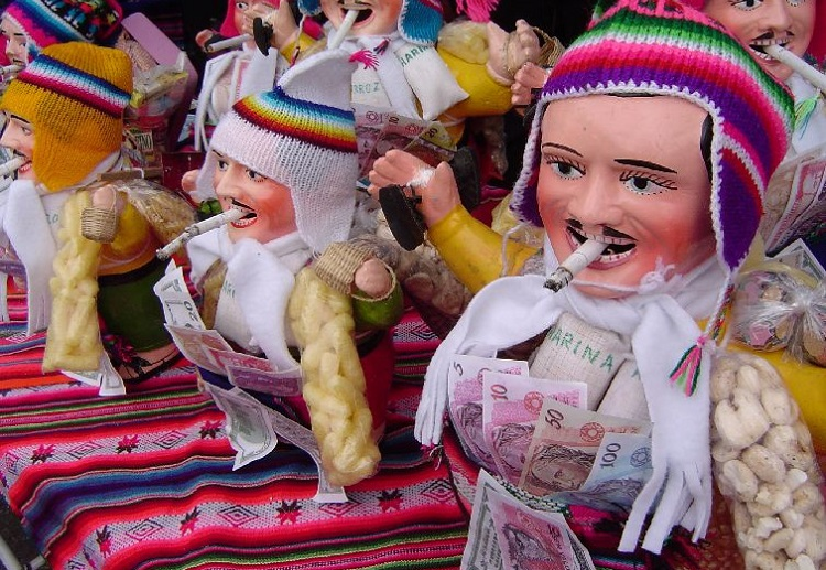 Alasitas Festival la paz bolivia